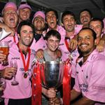 Дэн Рэдклифф на финале по крикету