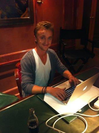Интервью Тома Фелтона на Twitter