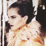 Эмма в журнале Vogue US