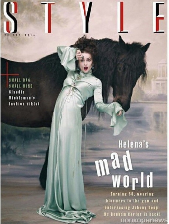 Хелена Бонем Картер в The Sunday Times Style